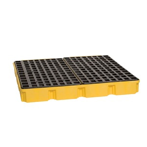 Drum Modular Platform - Yellow with Drain